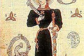 Die historische Darstellung zeigt Carles, Prinz von Viana. Das war der Ehrentitel des aragonesischen Thronfolgers.