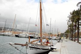 """Die """"Balear"""", erbaut um 1920, ist eine inseltypische Llaüt, die noch als reiner Segler ohne Motorantrieb gezimmert wurde."""