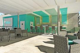 Die Foto-Montage zeigt, so soll das Hotel nach dem Umbau aussehen.