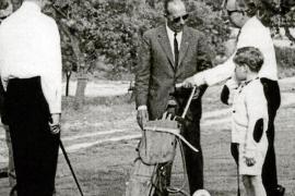 Fürst Rainier von Monaco bei der offiziellen Eröffnung von Golf Son Vida.