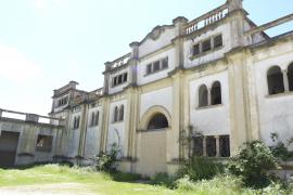 Das Gebäude der ehemaligen Kellerei Sindicat in Felanitx.