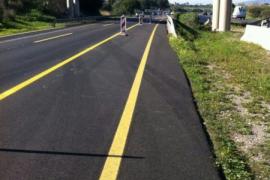 Dritte Fahrspur für Autobahn Palma-Inca