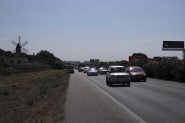 Autobahnbau von Llucmajor nach Campos