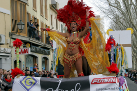 Karnevalsumzug in Palma de Mallorca.