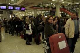 Chaos beim Fluglotsenstreik im Dezember 2010 auf Mallorca.
