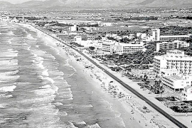 Noch in den 1950er Jahren war die Playa weitgehend Dünenland.