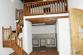 Das Innere des Chalets des Ex-Bürgermeisters von Andratx, das ursprünglich als Pony-Stall ausgegeben worden war.