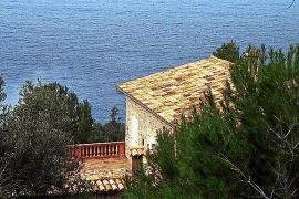 Das Landhaus von Llucalcari, das heute nicht mehr existiert.