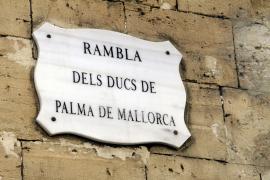 Bis vor Kurzem war der Prachtboulevard noch nach Prinzessin Cristina und Iñaki Urdangarín benannt.
