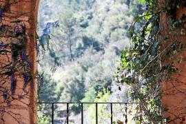 Das Haus des Künstlers bietet fantastische Ausblicke auf die Berge vor Valldemossa.