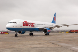 "Erstes ""Alltours""-Flugzeug auf Mallorca"