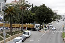 Wieder Lastwagenunfall auf Hafenpromenade