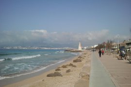 Und so dürfte die Promenade von El Molinar von Samstag an wieder aussehen.