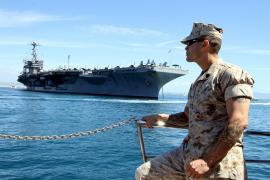 """Die Besatzung der """"USS Harry S. Truman"""" ist fast 6000 Mann stark"""