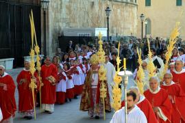 Mit der Palmsonntagsprozession beginnen auf Mallorca die Feierlichkeiten zur Osterwoche.