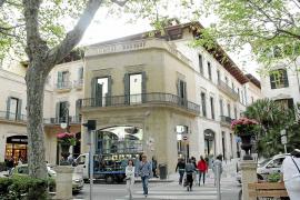 Can Alomar liegt an einer der ersten Adressen in Palma de Mallorca, direkt am Borne.