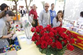 Impressionen vom Tag des Heiligen Jordi auf Mallorca.