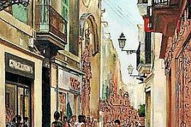Palmas Straßenzüge gehören zu Claudio Torciglianis Lieblingsmotiven.