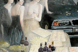 """Adolfo Estrada und """"seine Frauen"""". Bilder voller Sinnlichkeit, Zärtlichkeit und Tiefe."""