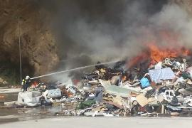 Trotz des giftigen Rauchs wurde bei dem Brand niemand verletzt.