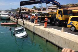 Auto statt Yacht in Puerto Portals
