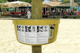 Schließfächer für Calvià-Strände