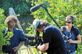 Orangen, ein Filmteam und eine geheimnisvolle Treppe