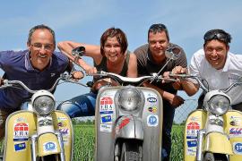 Per Moped nach Mallorca
