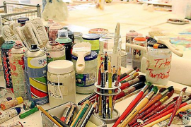 Das Atelier in Sineu.