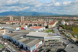 """Das Industriegebiet von Son Castelló mit der dahinterliegenden Arbeitersiedlung S'Indioteria wurde 1964 """"erdacht""""."""