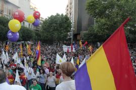 Demonstrationen für die Republik
