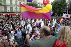 Bei den Demonstrationen auf Mallorca wurden etwa 1000 Teilnehmer gezählt.