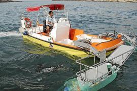 Mehr Müllboote auf dem Meer im Einsatz