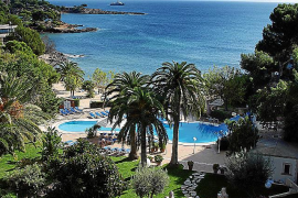 Hotel Son Caliu mit eigenem Beachclub
