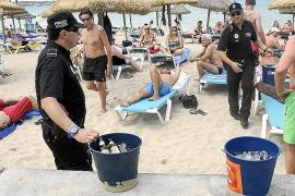 Großoffensive der Polizei an Playa de Palma