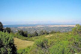 EIn bisschen wie Mallorca: Das Silicon Valley mit der Bucht von San Francisco im Hintergrund.