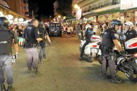 Deutsche Randalierer an Playa de Palma festgenommen