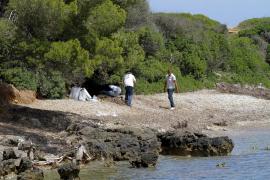 In einem Waldstück wurden Gegenstände der Toten gefunden.