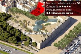 Baulizenz für weiteres Luxushotel in Palma