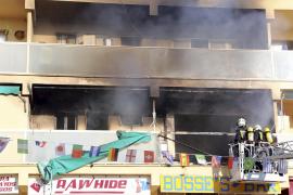 Vier Verletzte bei Brand in Magaluf