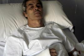 José Luis Vicho musste nach seiner Rettungstat im Krankenhaus behandelt werden.