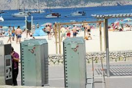 Schließfächer auf Mallorca.