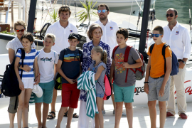 Königskinder segeln vor Mallorca