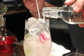 """Gin Tonic mit Radieschen ist eine von Gonzalez' Spezialitäten: """"Die Schärfe der kleinen Wurzeln passt hervorragend zum Wacholder"""