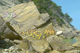 Empörung über Graffitis an Meeresfelsen