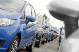 Rund 50.000 Mietwagen sind auf Mallorca in den Sommermonaten im Einsatz.