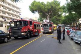 Feuerwehr evakuiert Hotel in Palma