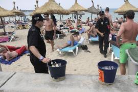 Polizei bittet Sauftouristen zur Kasse