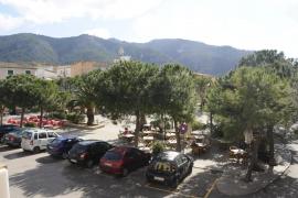 So sieht die Plaza de España in Andratx derzeit aus.