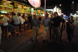 Palmas Bürgermeister in der Schinkenstraße